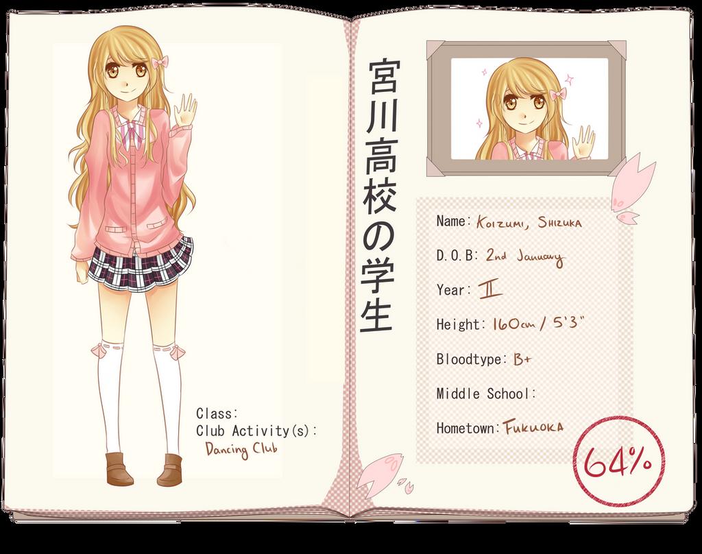 MH- Koizumi, Shizuka by Azuyasai