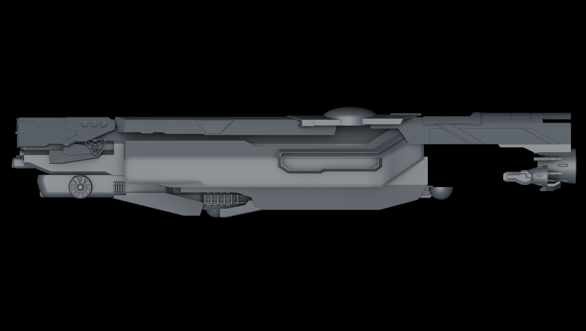 Side view, WIP by The-Didact