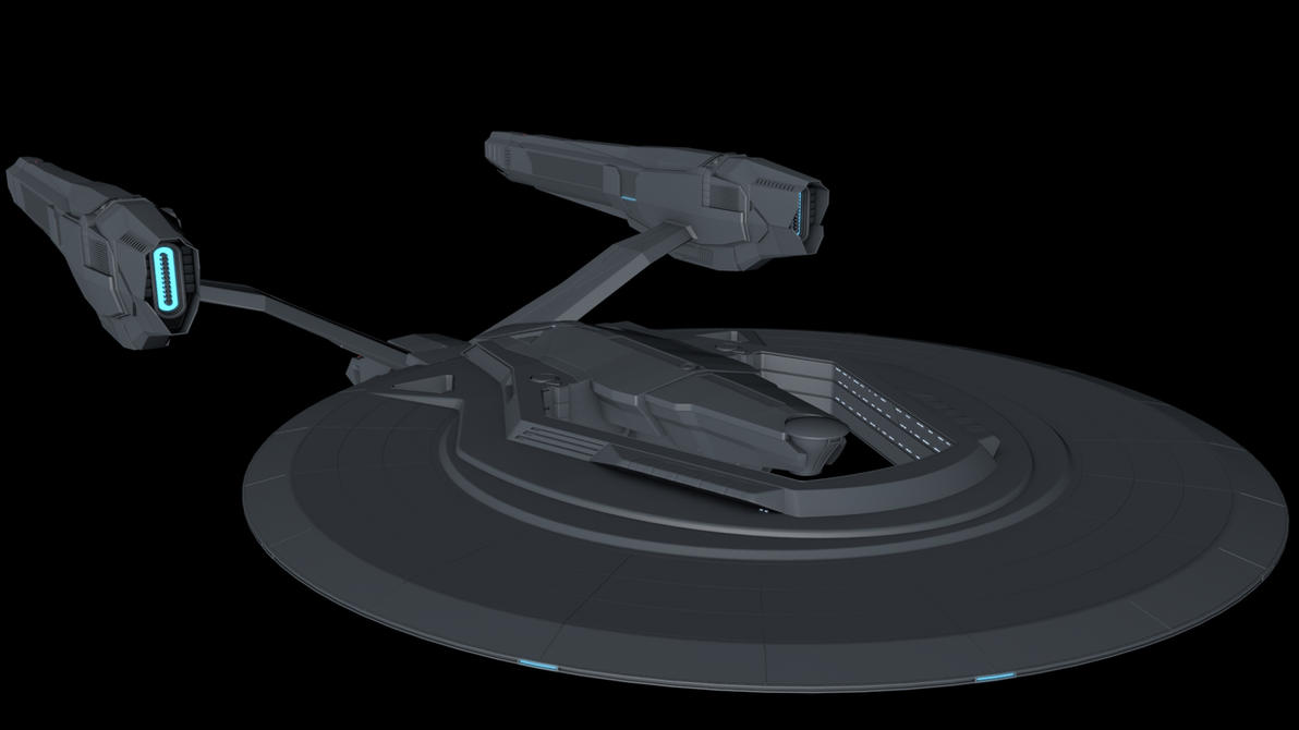 USS Vengeance redone - Top by The-Didact