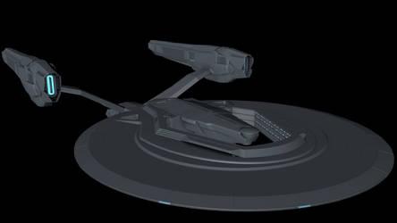 USS Vengeance redone - Top