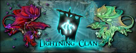 Lightning banner by LoopGaroux