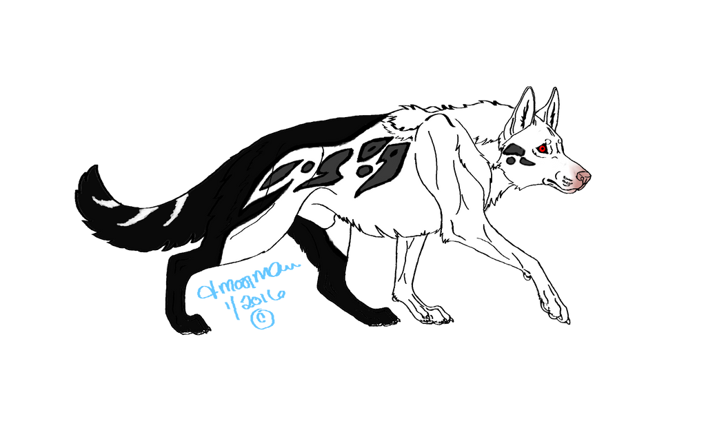 Shieldwolf1 by LoopGaroux