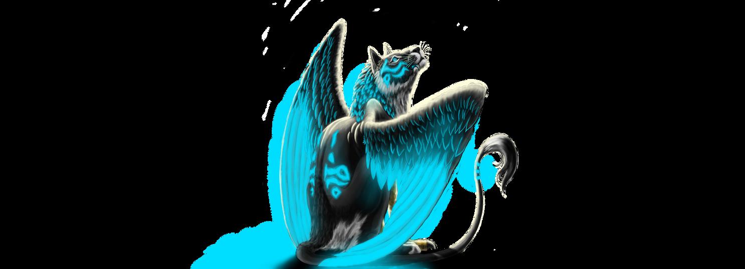 Griffon cat by LoopGaroux