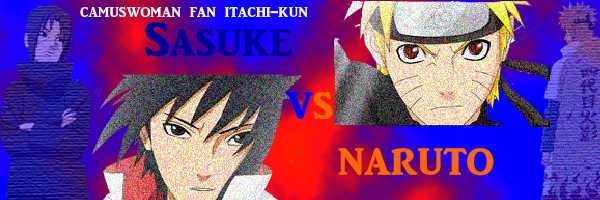 firma Sasuke vs Itachi by camuswomanandcompany