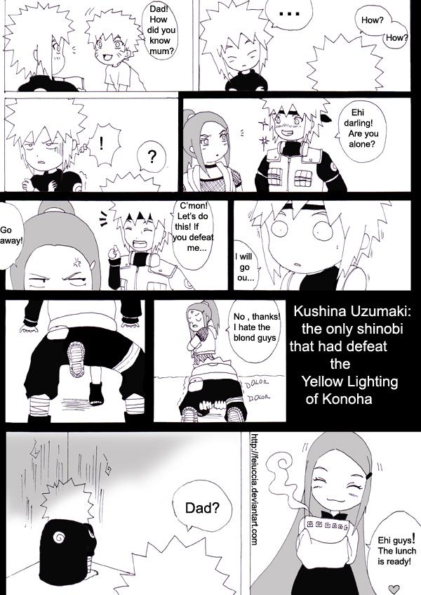 Minato and Kushina..first love by Feiuccia