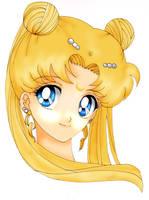 Sailor Moon princess Serenity by Feiuccia