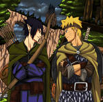 Naruto 679: the elf and the warrior