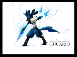 Lucario Redux by Kansaibou