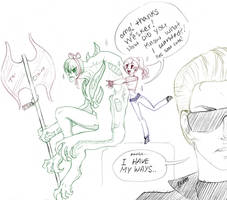 WESKER how did you KNOW by CosmicVirus