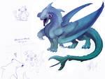 Hammerhead Dragon Colored