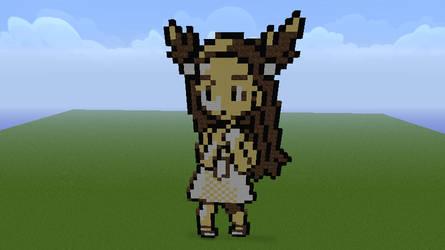 Pokemon G/S/C Jasmine Minecraft Sprite