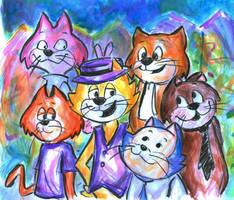 Don Gato y su Pandilla by Lucky-phantom