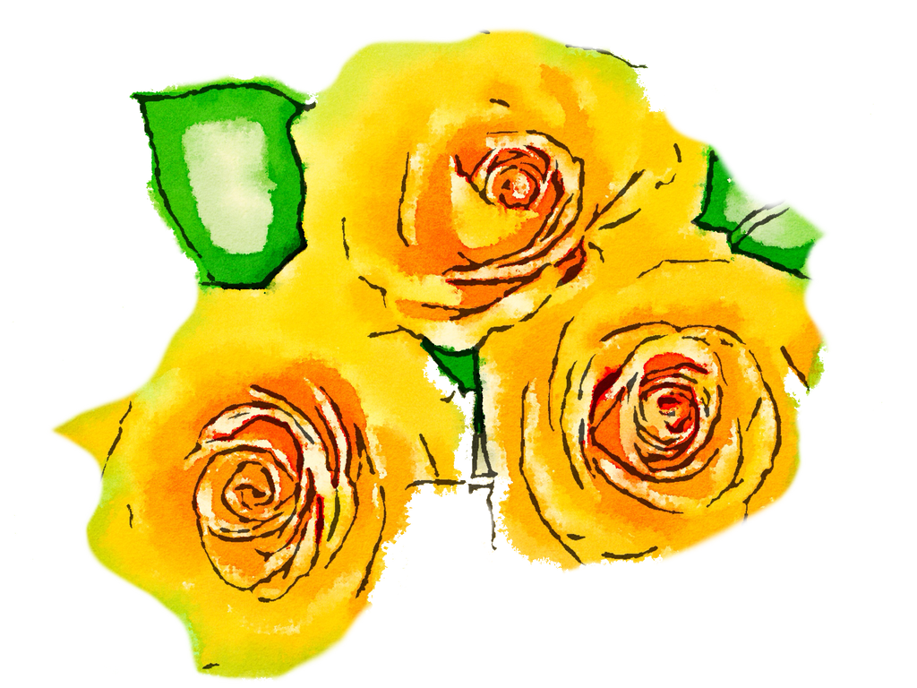 FREE-yellow-flowers-png-usefreely-watercolor by anjelakbm on ...
