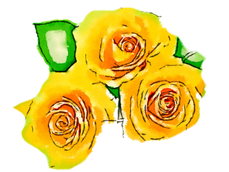 FREE-yellow-flowers-png-usefreely-watercolor by anjelakbm