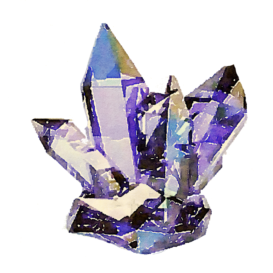 FREE-cyrstals-crystal-watercolor-png by anjelakbm on ...