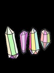 FREE-crystal-handdrawn-illustration-colorful by anjelakbm