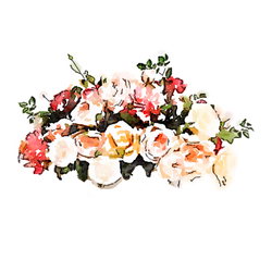 FREE-USEfreely-flowers-watercolor-pink-peach-red by anjelakbm