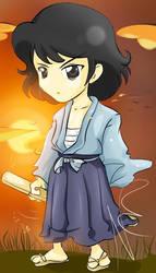 Goemon chibi by Nekoi-Echizen