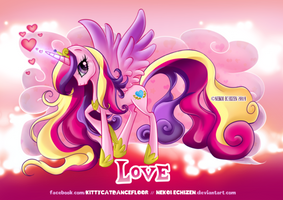 Equestria Elements serie  Princess Cadence  Love by Nekoi-Echizen