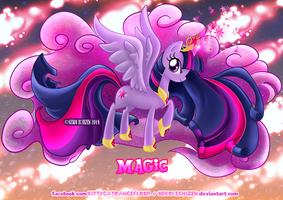 Equestria Elements serie-Princess Twilight - Magic by Nekoi-Echizen