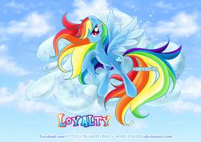 Equestria Elements serie - Rainbow Dash - Loyalty by Nekoi-Echizen