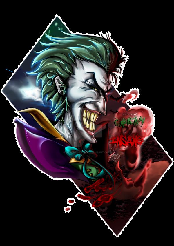 Joker - if I weren't CRAZY i'd be INSANE by Nekoi-Echizen