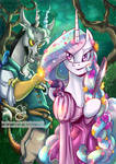 Tangled - Discord and Celestia