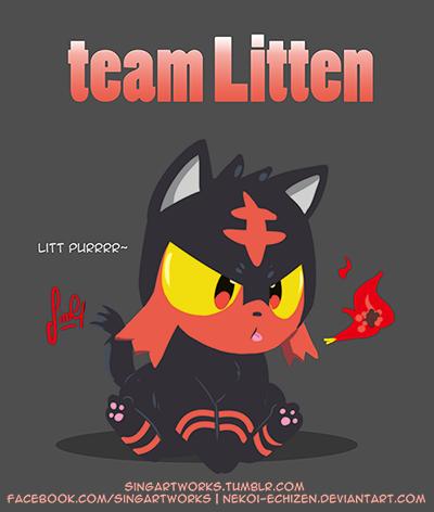 Team LITTEN by Nekoi-Echizen