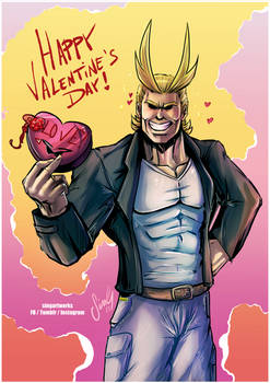 Valentine's 2018 - All Might