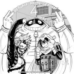 Let's celebrate HeroAca anime season 4