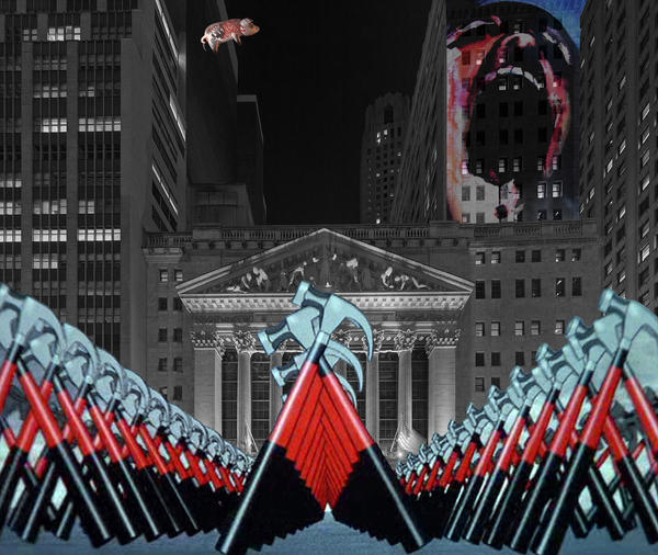 Wall Street by quartertofour