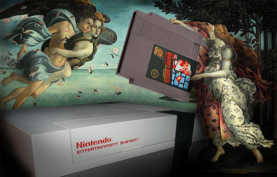 The Birth of NES by quartertofour