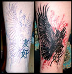 Raven cover-up
