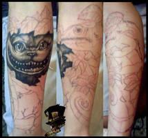 sleeve in progress by DarkArtsColective