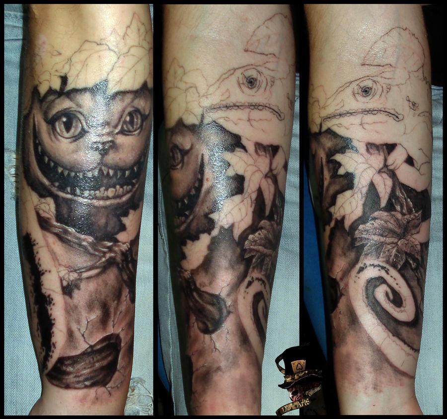 sleeve still in progress by DarkArtsColective