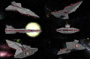 Beta Class Battlecruiser (3/400 Scale) by AngelisGoodwen
