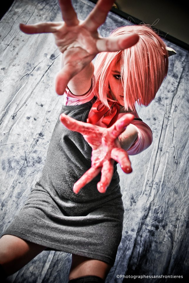 elfen lied helmet lucy - photo #13
