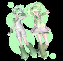 Sour Style Kazemine Twins [ MMD DL]