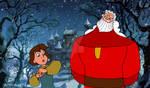 For Makosharkman - Peter and Santa by acorntree144
