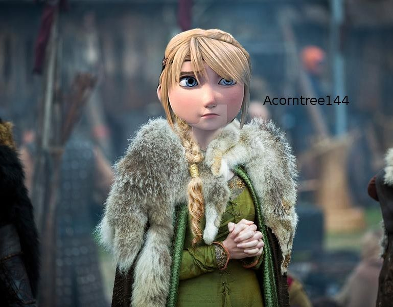 how to train your dragon dress up astrid