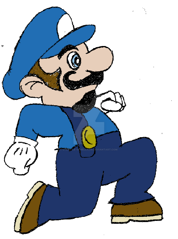 the third mario brother by steph le vehellaire on deviantart