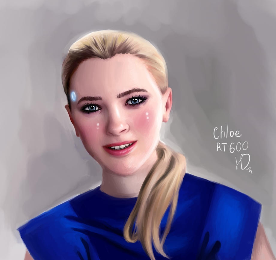 Chloe|Detroit: become human by HelgaDi