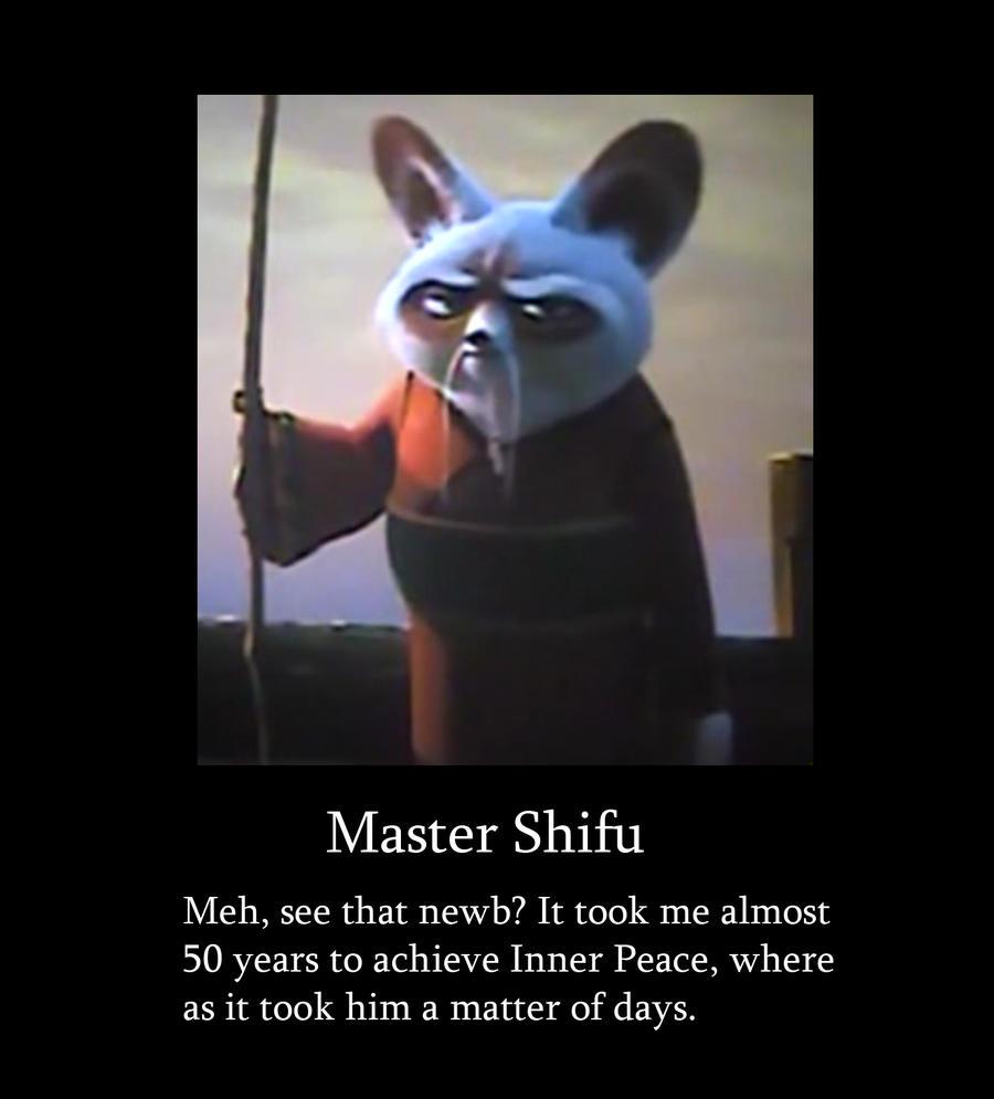 shifu demotivation by ja the shadow hunter on deviantart