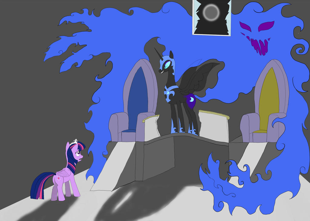 Pawn of Turmoil's despair by Ja-The-Shadow-Hunter