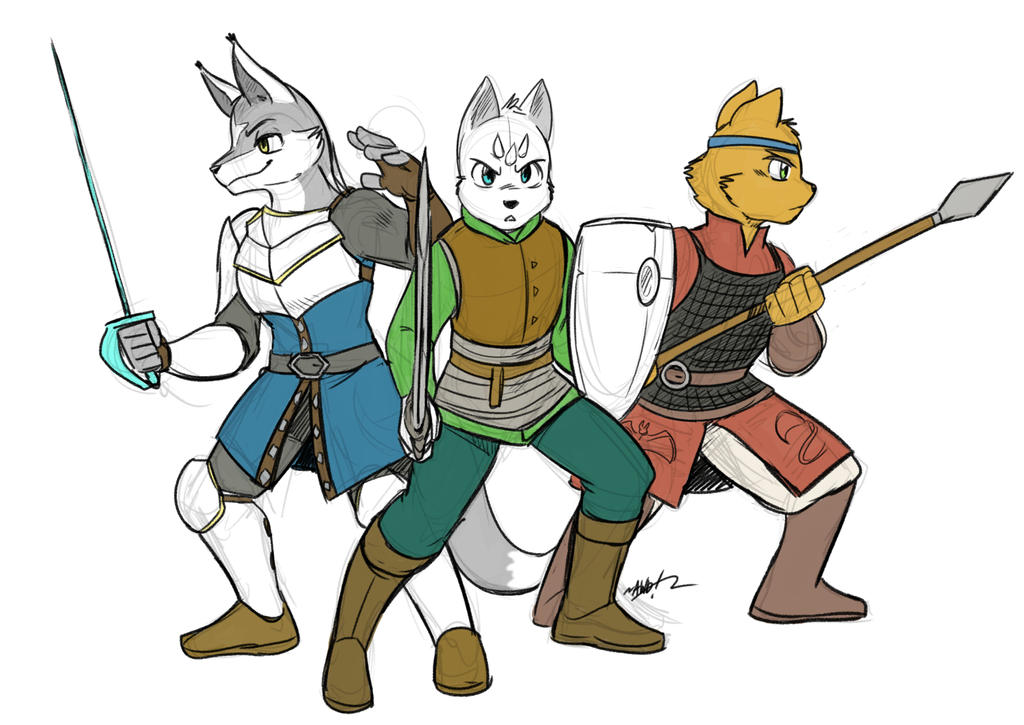 Trio by Ja-The-Shadow-Hunter