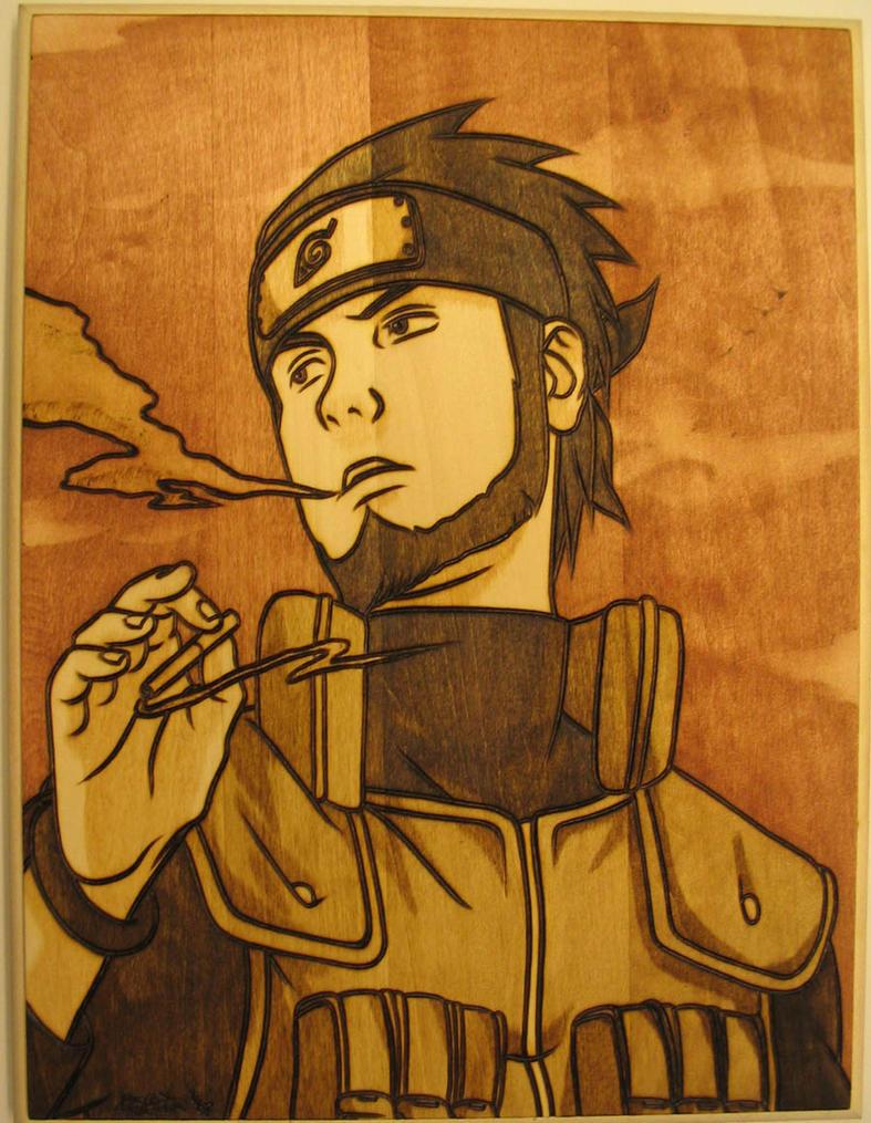 Asuma Tribute Burn by Obidesuka