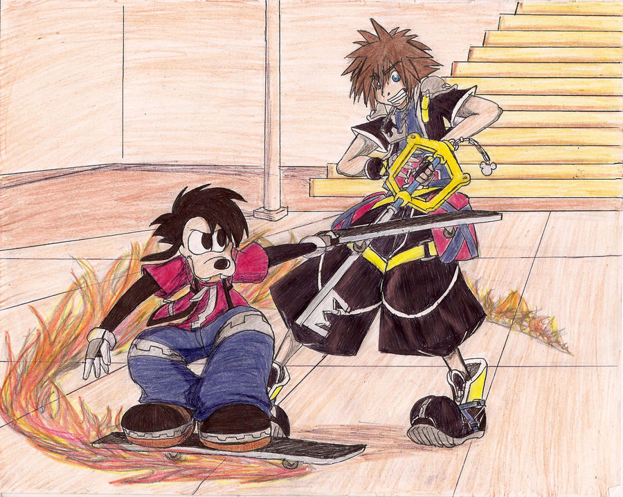 Max vs Sora by kyri01 on DeviantArt