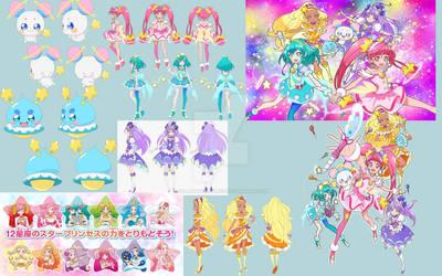 star twinkle pretty cure by FallenAngelAlice