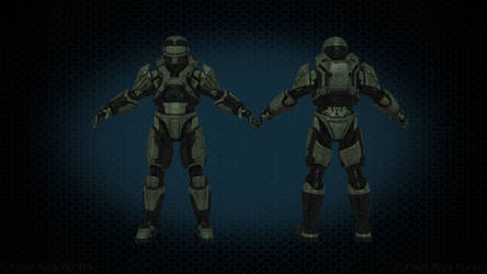 HALO CUSTOM 3D MODELS by kinar-kiya-konho on DeviantArt