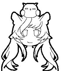 Pixel-ish cute owl by CrossCrimson